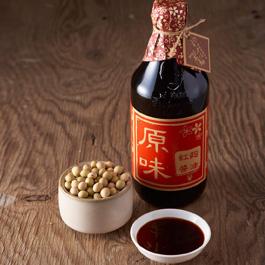 豆油伯原味紅麴醬油(共兩瓶)