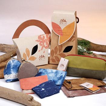 植物染配件禮盒(筆袋)
