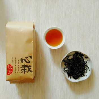 心栽 手採條索-紅玉紅茶(75g)