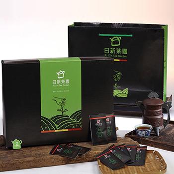 日新茶園禮盒3入(酸柑茶包、東方美人茶、蜜香紅茶)