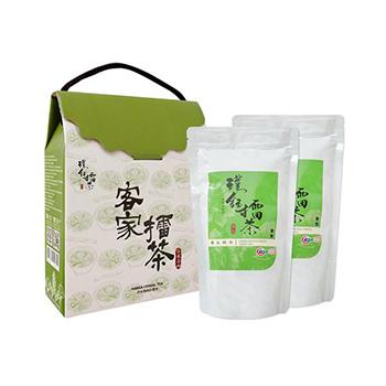 養生綠茶擂茶雙入禮盒組